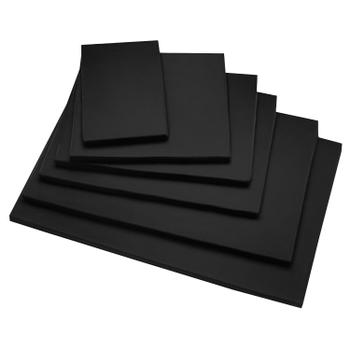 Benchkussen Canvas zwart