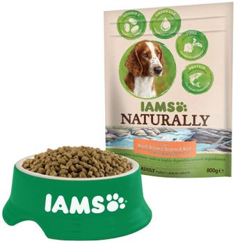 (3e zak gratis!) Rijk aan rijst en Nieuw-Zeelands Lam. 100% complete voeding met zeer goed verteerbare natuurlijke ingrediënten met vitamine E, omega 3 & 6 voor huid en botten en extra proteïne voor sterke spieren Zak 800 gram.