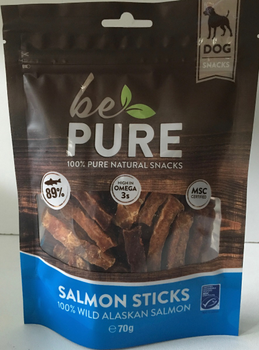 Be Pure Dog Salmon Sticks -  - Diergigant Shop