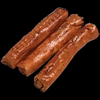 Buffelhuid kauwrol large 3 stuks