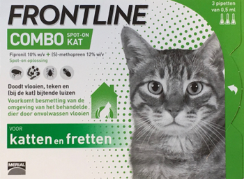 Frontline Combo Spot On KAT -  - Diergigant Shop