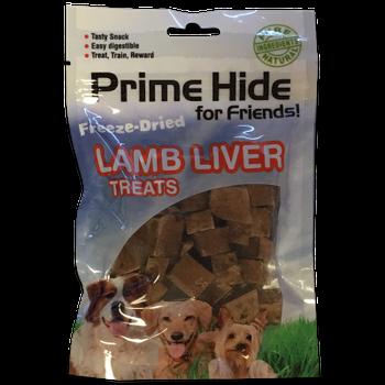 Prime Hide Freeze-Dried Lamb Liver Treats zijn een natuurlijke en smakelijke traktatie voor je hond. Door het unieke vriesdroog proces worden de smaken en de voedingswaarde van de treats optimaal behouden. Te gebruiken als snack, bij de training of speciale beloning. De overgebleven kruimels kunnen gebruikt worden als een lekkere topping op de maaltijd van je hond. Bevat geen toevoegingen of conserveermiddelen.