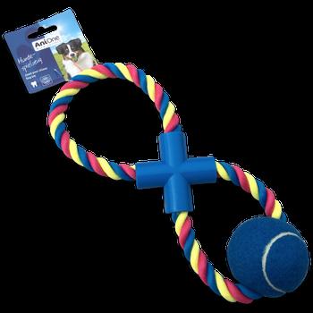 Speelgoed trektouw met bal -  - Kwispel Korting