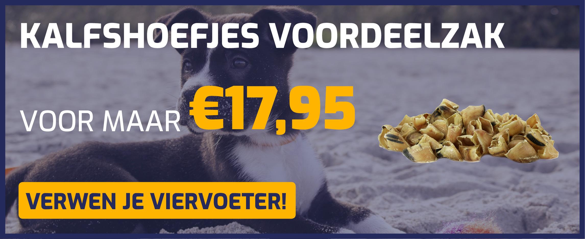 Kalfshoefjes voordeelzak, nu voor €17,95!