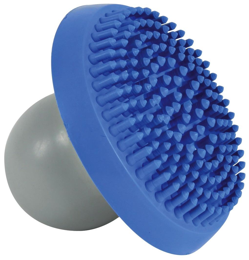 natuurrubber knop wordt gevuld met shampoo milde reiniging van de vacht voor het gedoseerd aanbrengen en optimaal verdelen van de shampoo op de vacht ook geschikt voor gevoelige honden