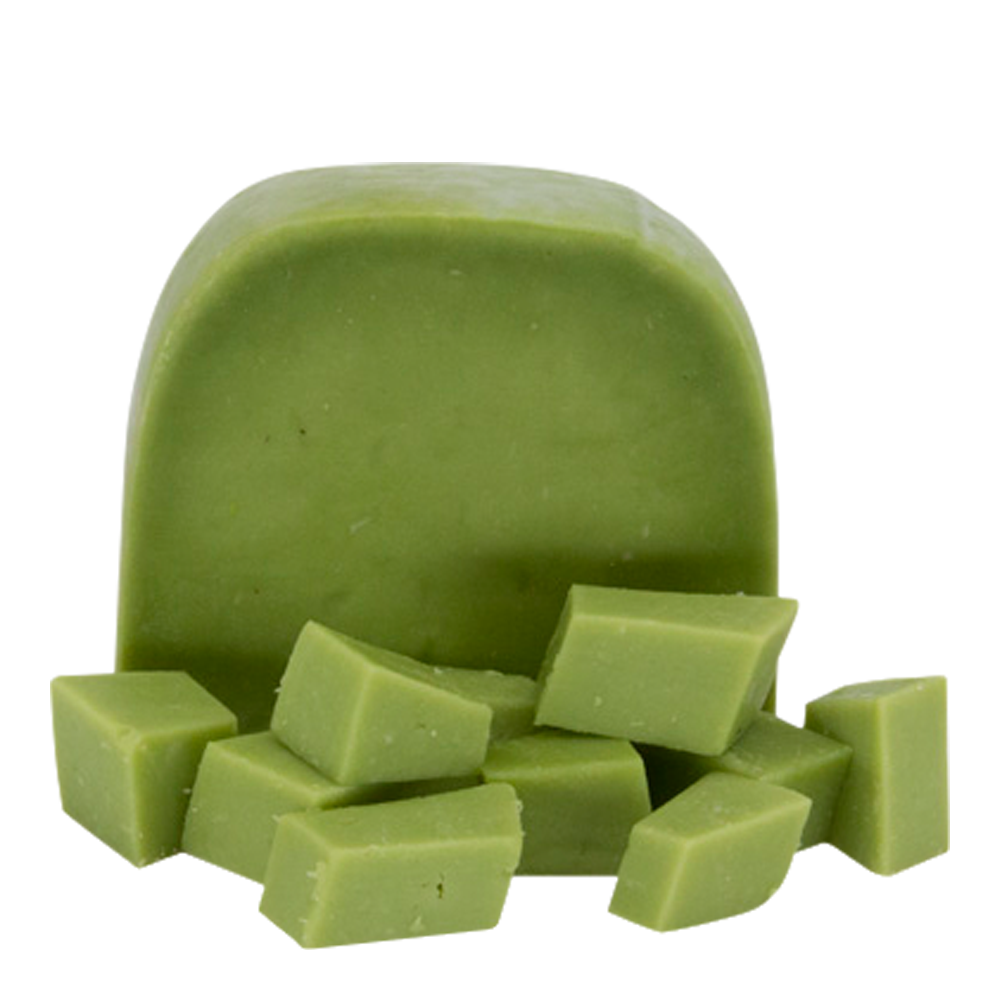 Delicious Giethoorn Gouda Cheese with Wasabi. The hot wasabi gives the cheese a real strong taste.