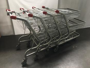 4 winkelwagens -  - Partij Online
