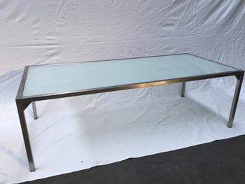 (presentatie)tafels RVS div.maten vanaf 20 euro