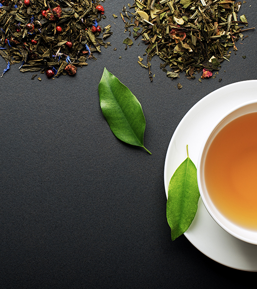 Discover the<br>world of tea!