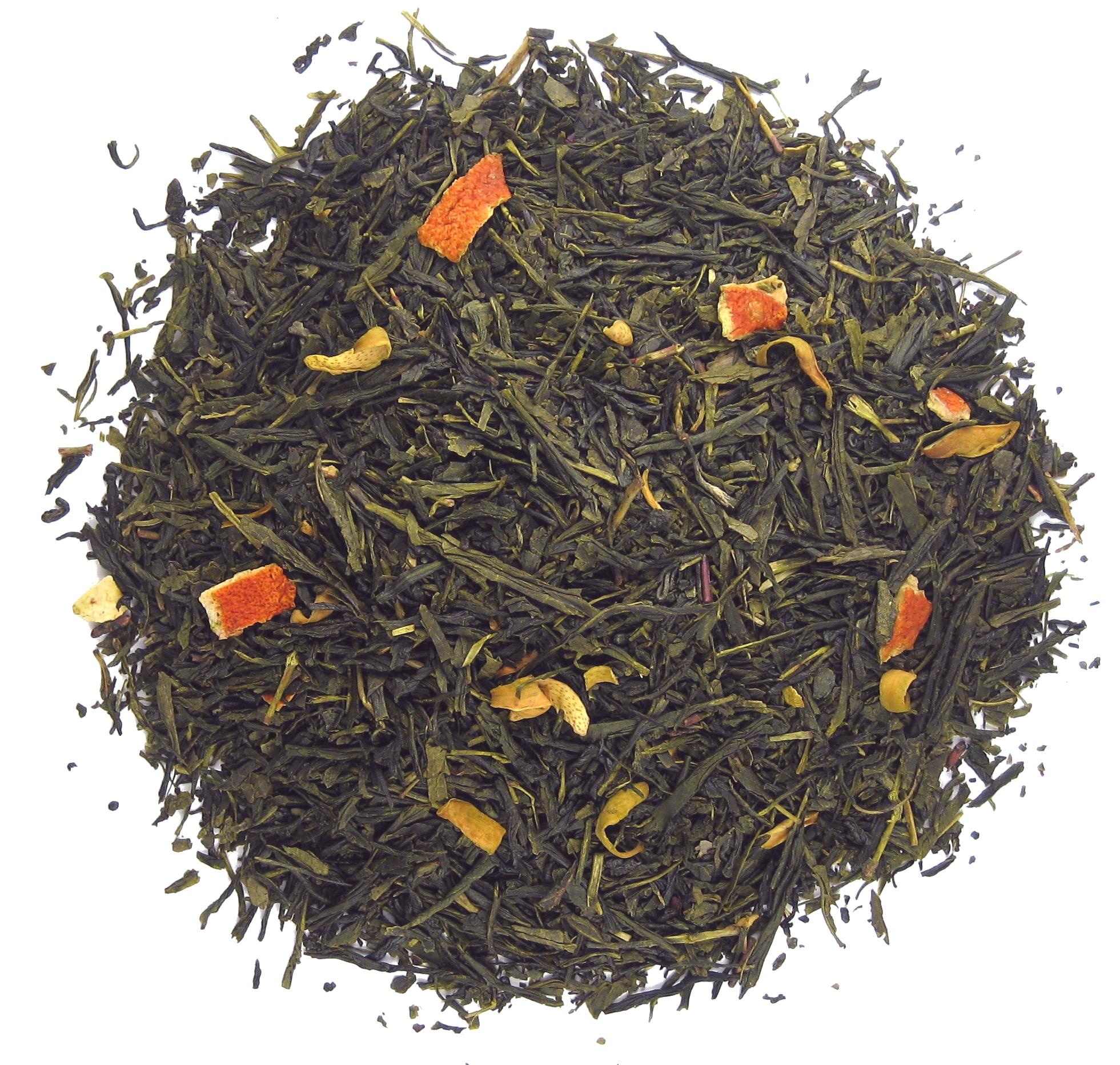 Green Orange Tea - 1 - Trending Tea